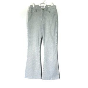 Frame Jeans Le High Flare Striped Mid-Rise 28x30